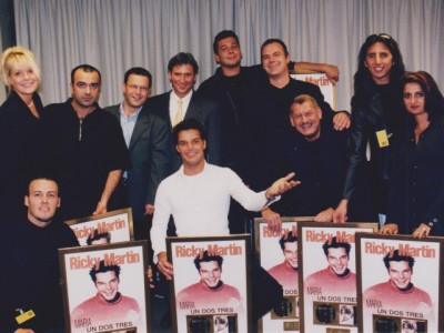 Ricky Martin Goes Gold in Germany